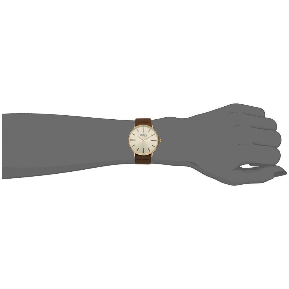 スティーブ マデン メンズ 腕時計【Madden Mens SMMW006G-BR】Gold/Brown