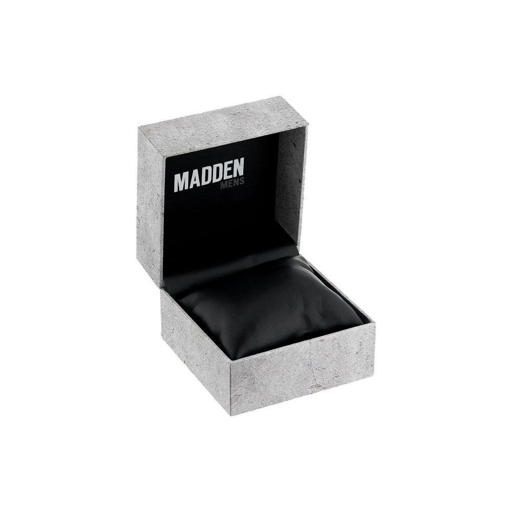 スティーブ マデン メンズ 腕時計【Madden Mens SMMW014Q-GY】Rose Gold/Black