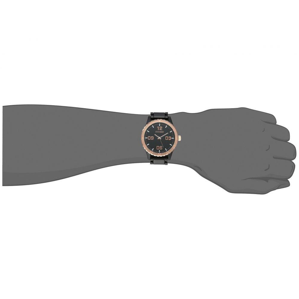 スティーブ マデン メンズ 腕時計【SMW155】Gunmetal/Rose Gold