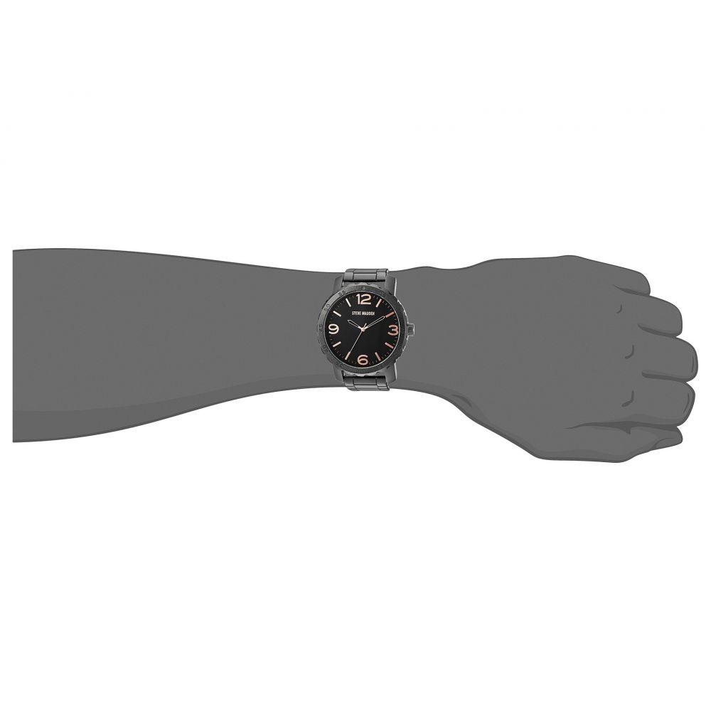 スティーブ マデン メンズ 腕時計【SMW129】Black/Rose