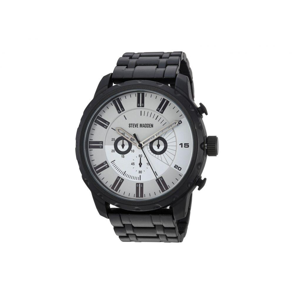 スティーブ マデン メンズ 腕時計【SMW126】Black