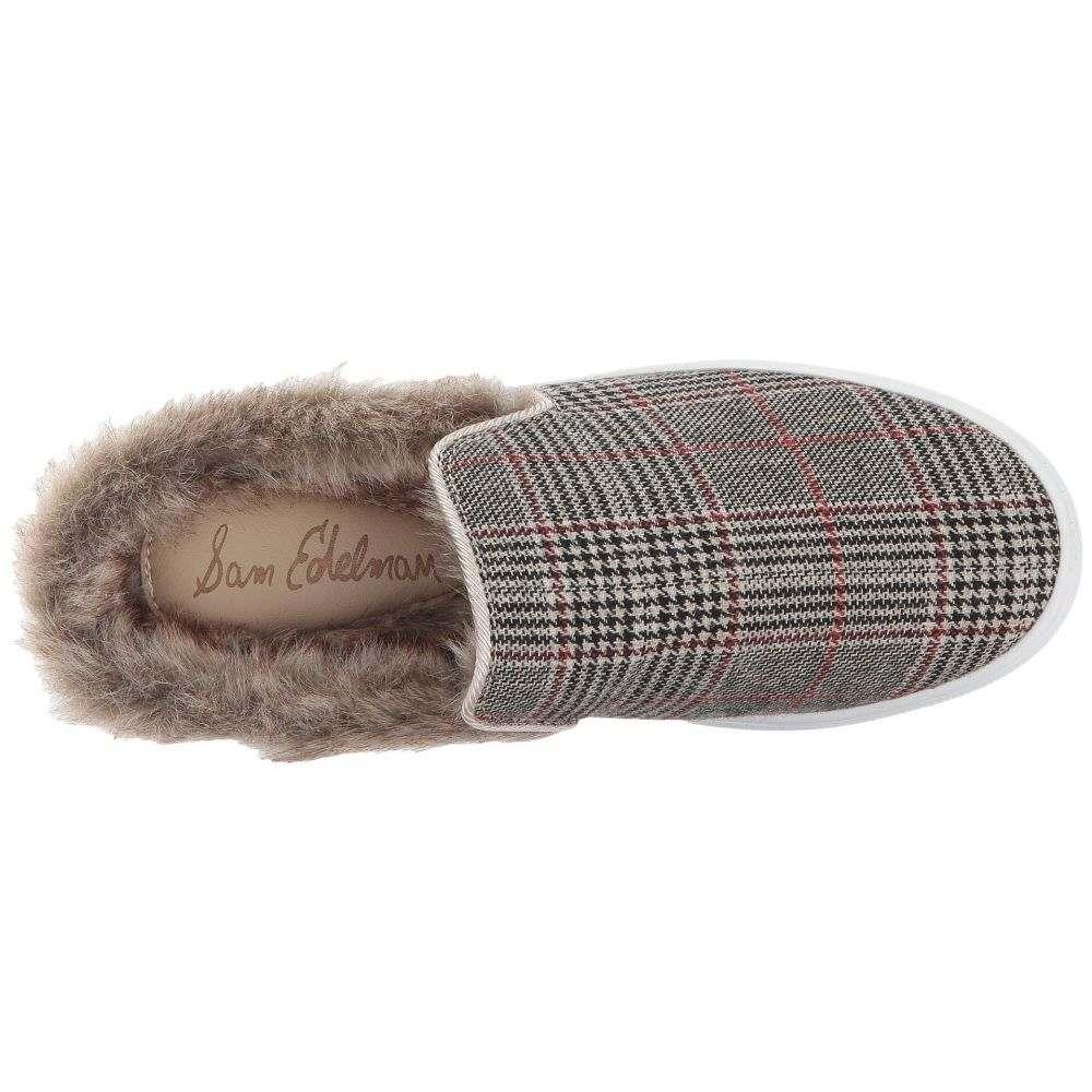 サム エデルマン レディース シューズ・靴 サンダル・ミュール【Levonne】Tan Multi/Puty/White Classic Plaid Fabric/Faux Fur