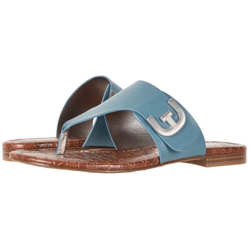 サム エデルマン レディース シューズ・靴 ビーチサンダル【Barry】Denim Blue Vaquero Saddle Leather