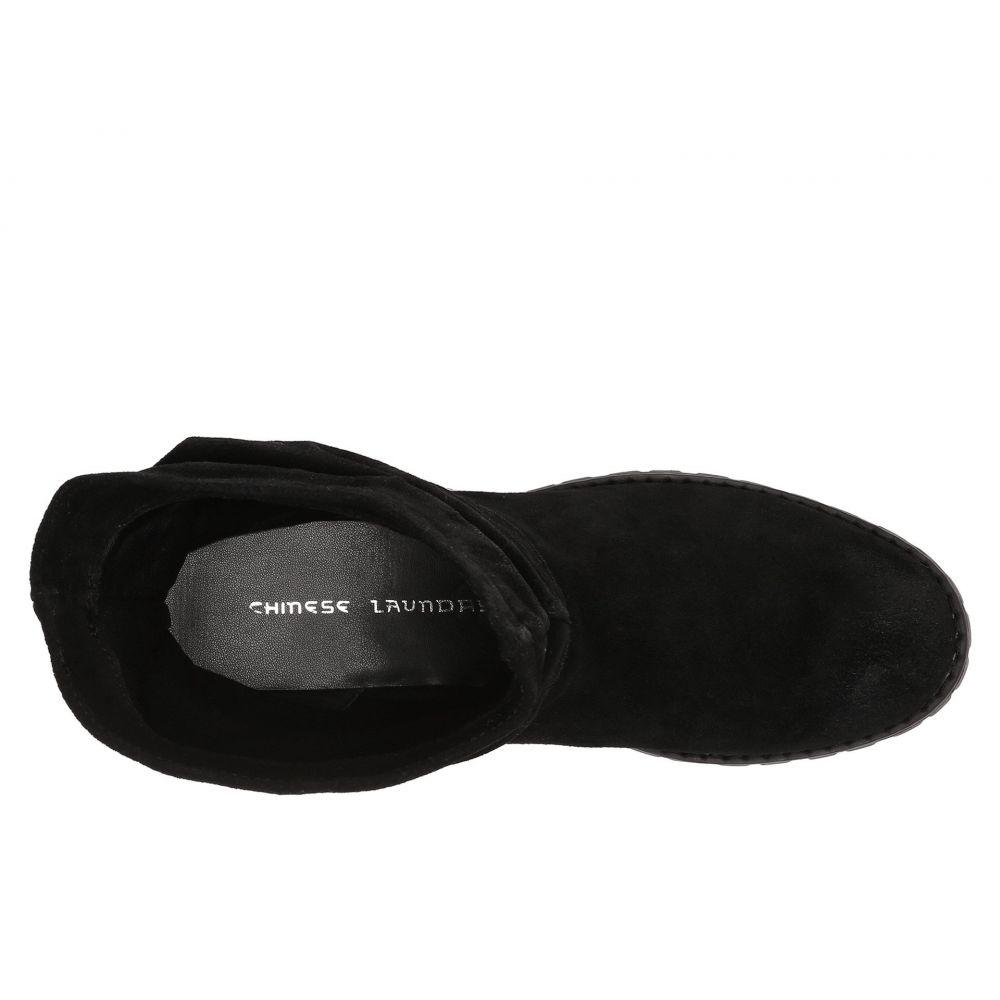 チャイニーズランドリー レディース シューズ・靴 ブーツ【Flip Slouch Bootie】Black Burnished