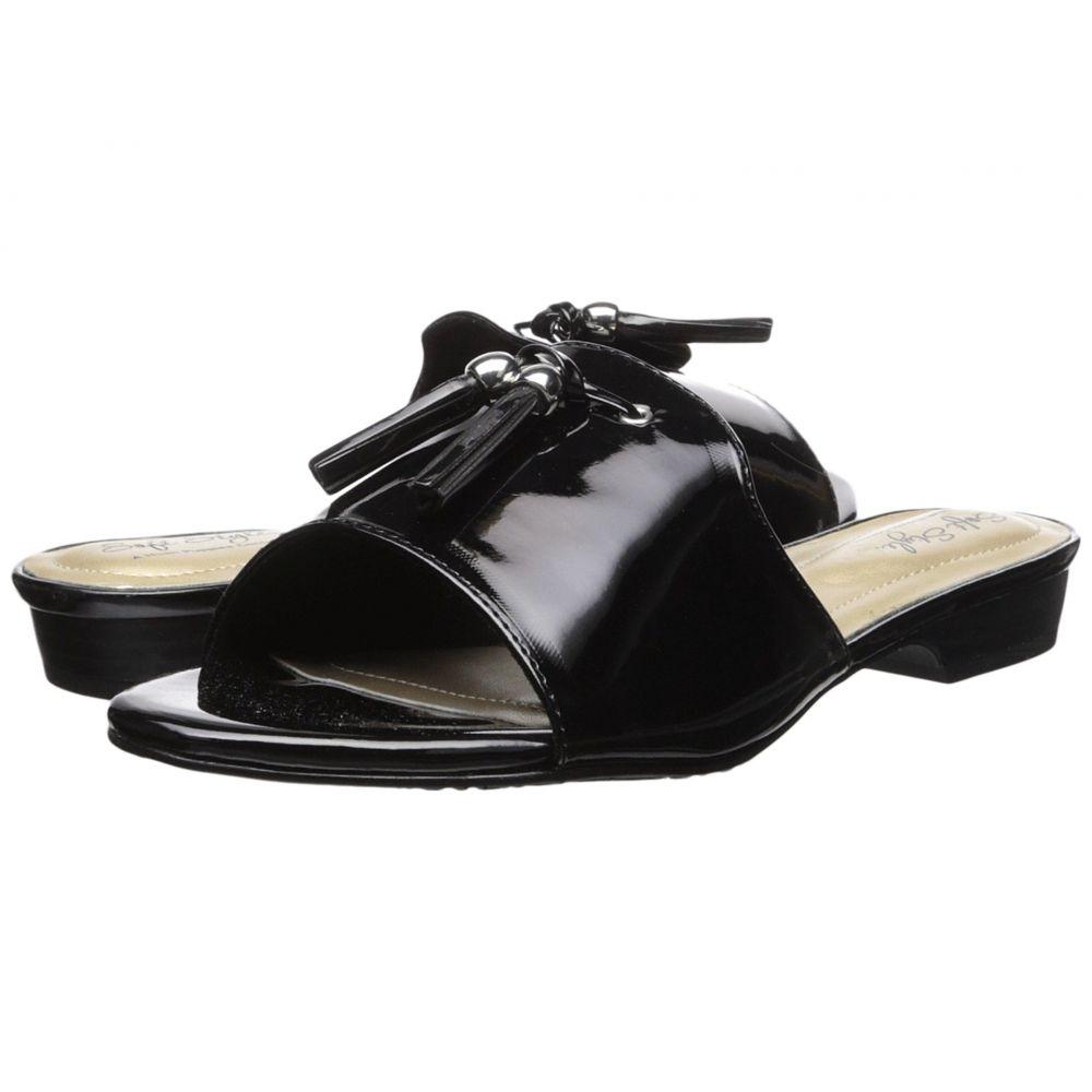 ソフトスタイル Soft Style レディース シューズ・靴 サンダル・ミュール【Mariana】Black Patent