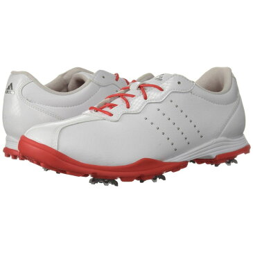 アディダス adidas Golf レディース シューズ・靴 スニーカー【Adipure DC】Footwear White/Real Coral/Silver Metallic