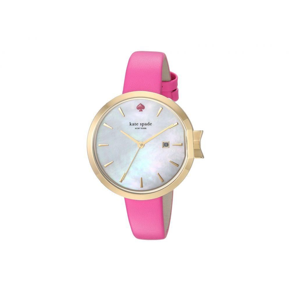 ケイト スペード Kate Spade New York レディース 腕時計【34mm Park Row Watch - KSW1268】Silver/Pink