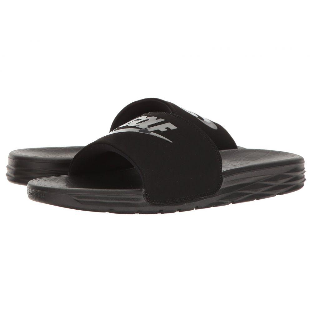 ナイキ Nike Golf レディース シューズ・靴 サンダル・ミュール【Benassi Solarsoft 2 G】Black/Anthracite