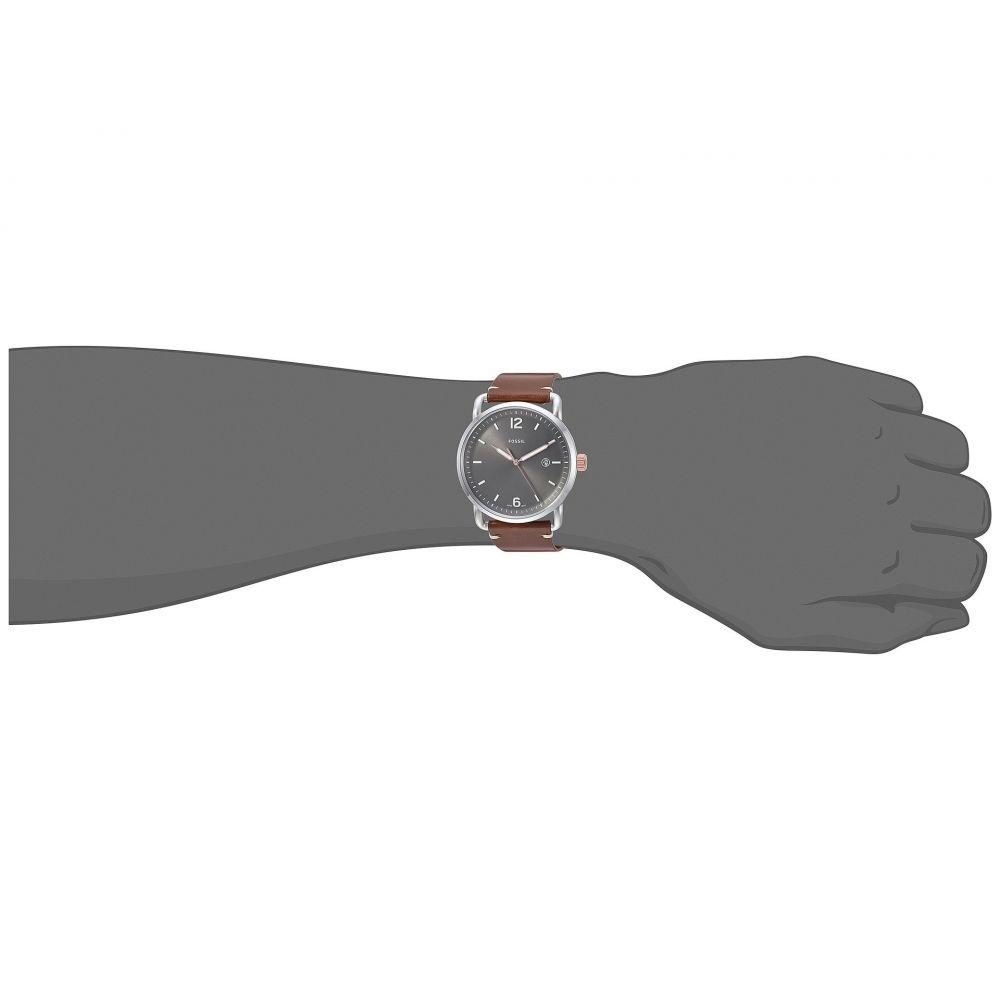 フォッシル Fossil メンズ 腕時計【The Commuter 3H Date - FS5417】Brown
