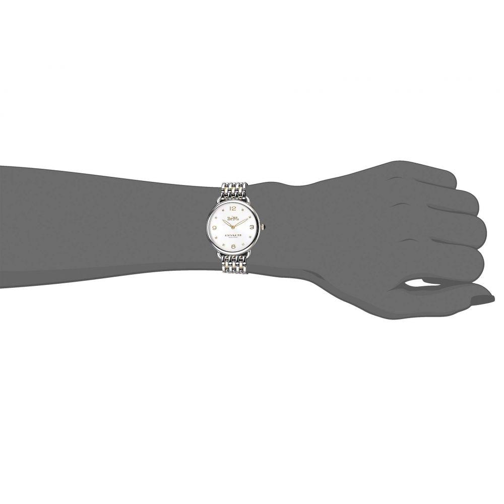 コーチ COACH レディース 腕時計【Delancey Slim - 14502788】Silver/White