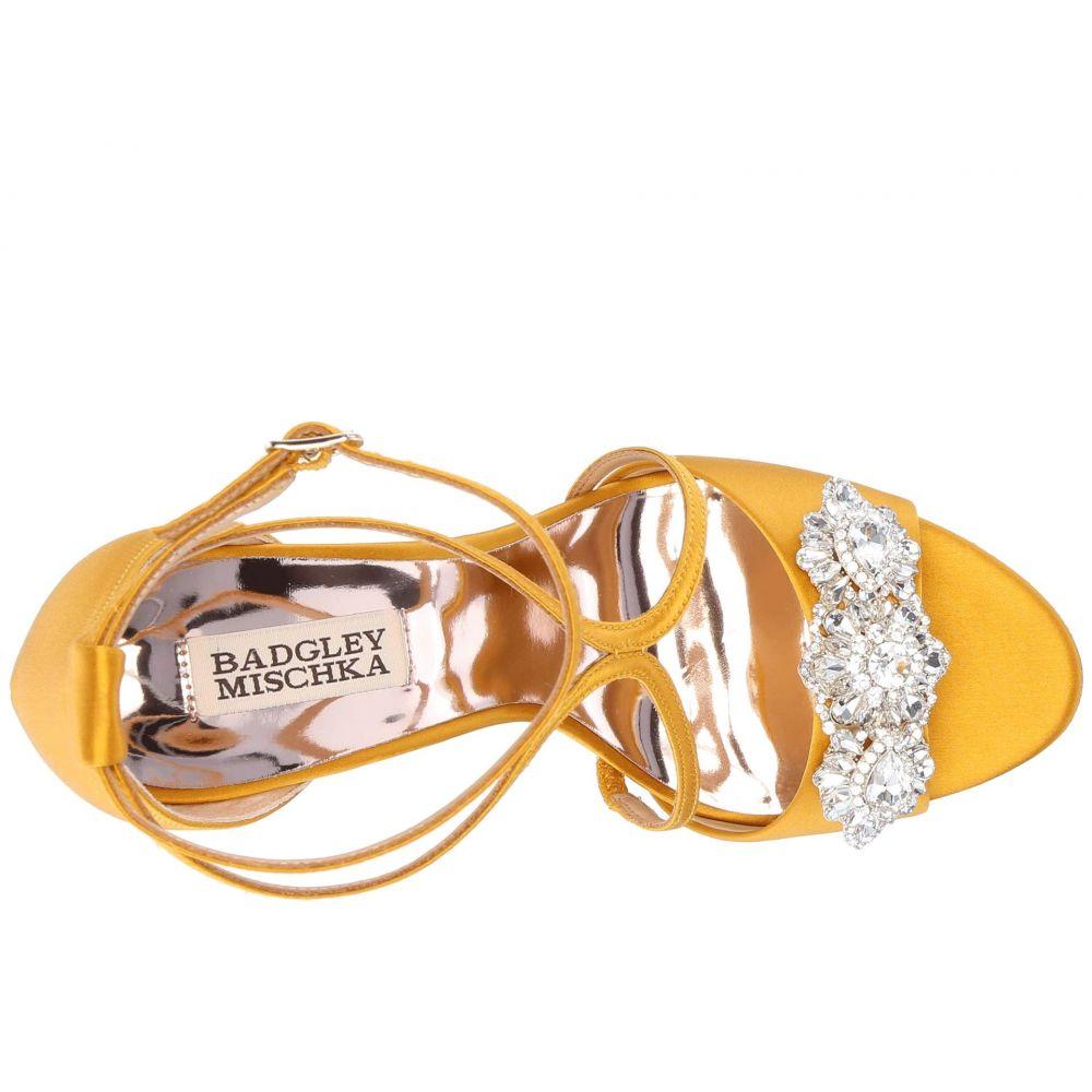 バッジェリー ミシュカ Badgley Mischka レディース シューズ・靴 サンダル・ミュール【Vanessa】Moroccan Gold Satin