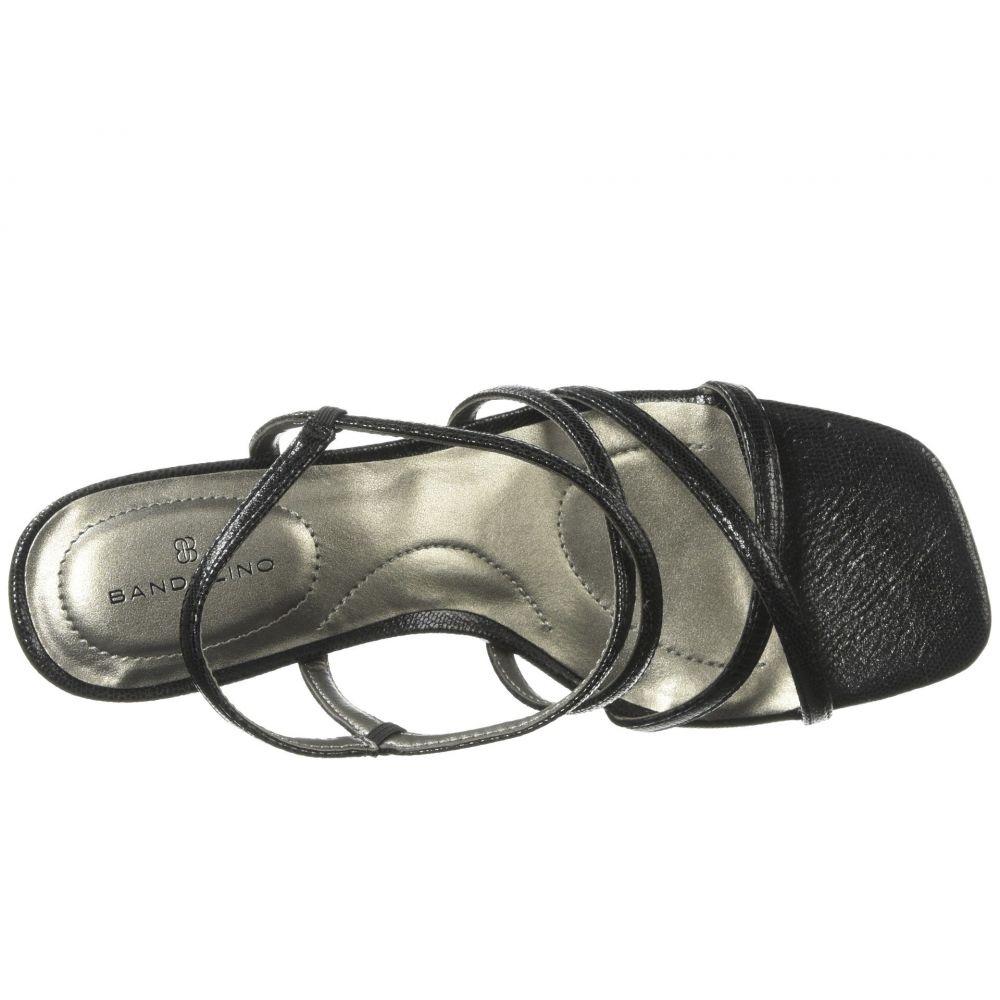 バンドリーノ Bandolino レディース シューズ・靴 サンダル・ミュール【Obexx】Black Lizard Metallic Lizard