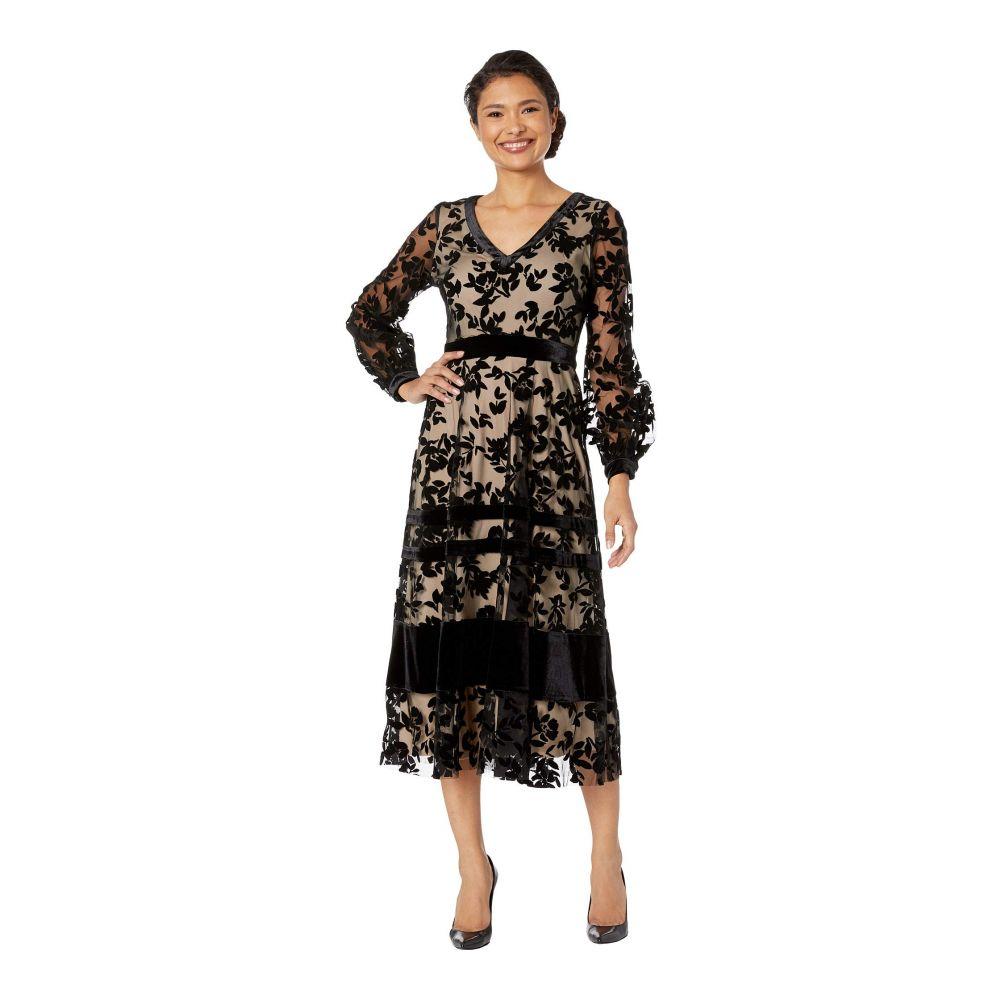 テイラー ドレス ファッション Taylor Womens Midi Dress 6 Blue