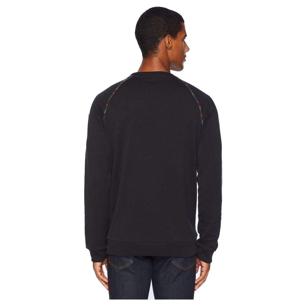 ミッソーニ Missoni メンズ トップス スウェット・トレーナー【Logo Sweatshirt】Black Onyx