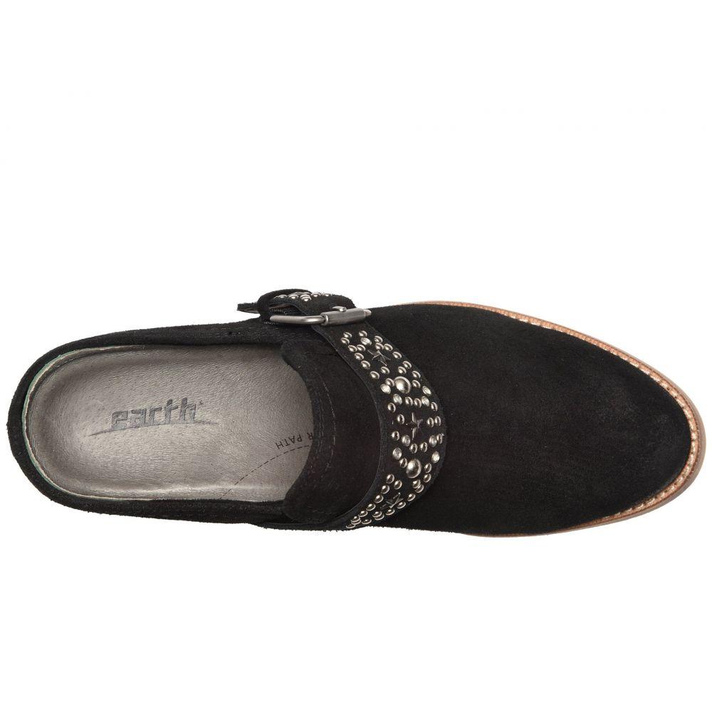カルソーアースシューズ Earth レディース シューズ・靴 ブーツ【Denton】Black Suede