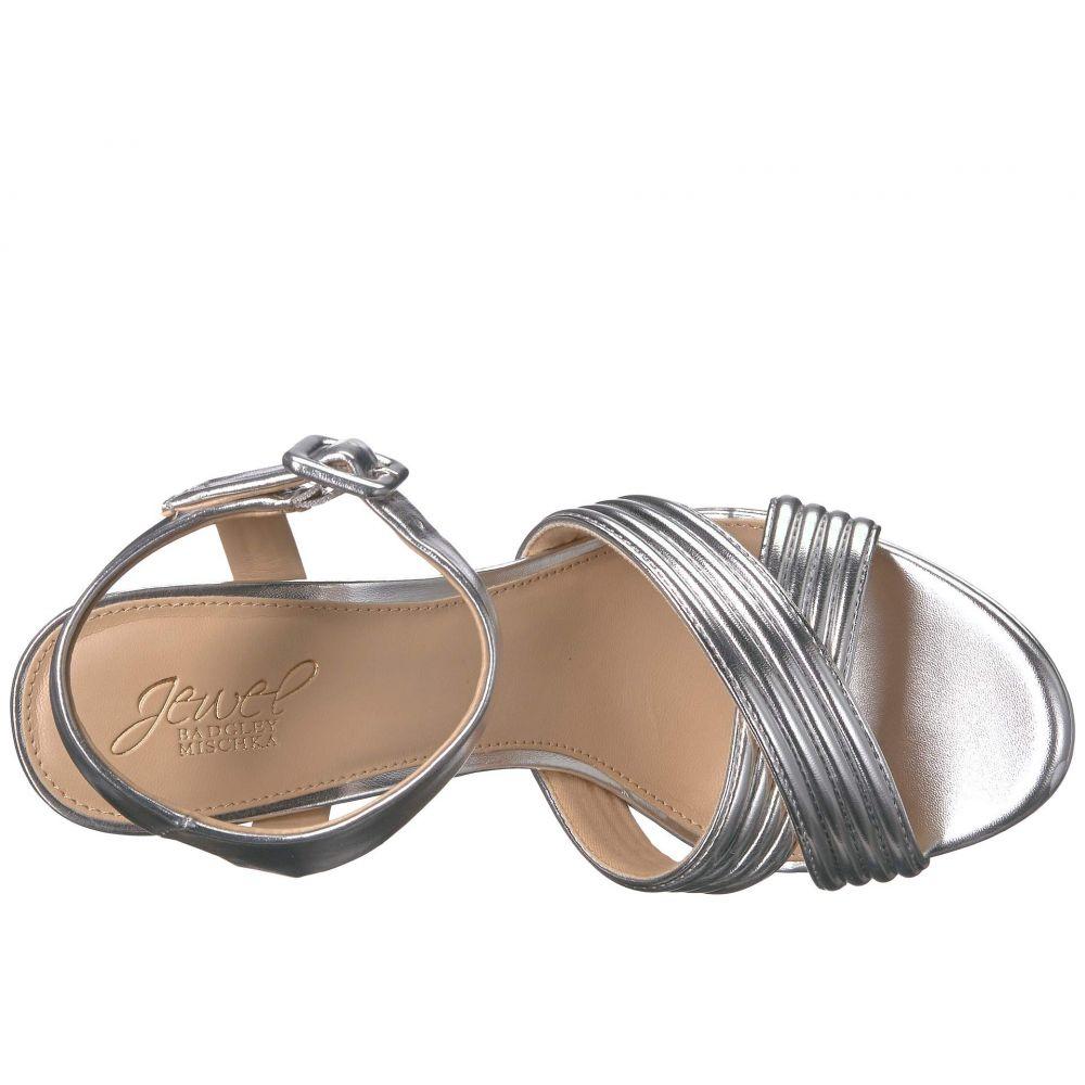 バッジェリー ミシュカ Jewel Badgley Mischka レディース シューズ・靴 サンダル・ミュール【Kayley】Silver
