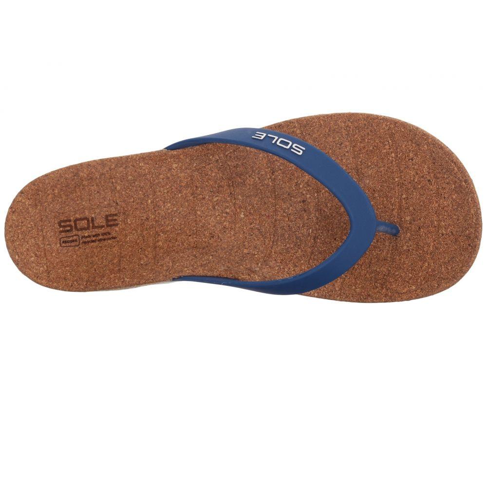 ソール SOLE レディース シューズ・靴 ビーチサンダル【Beach Flips】Nautical