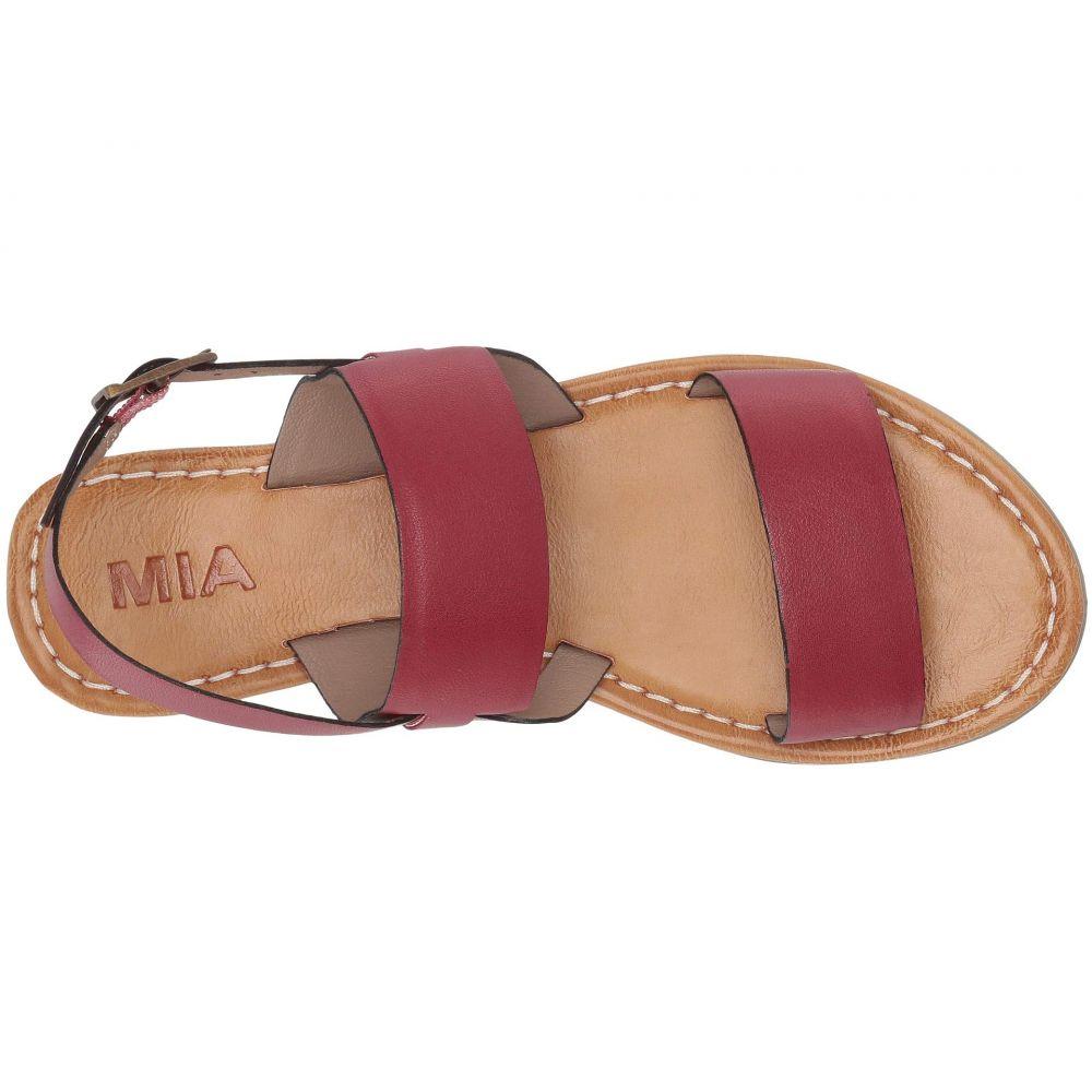ミア MIA レディース シューズ・靴 サンダル・ミュール【Elina】Red Leather