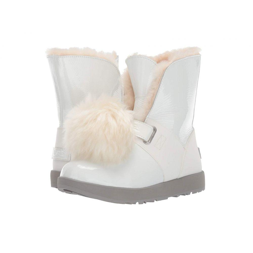 アグ UGG レディース シューズ・靴 ブーツ【Isley Patent Waterproof Boot】White