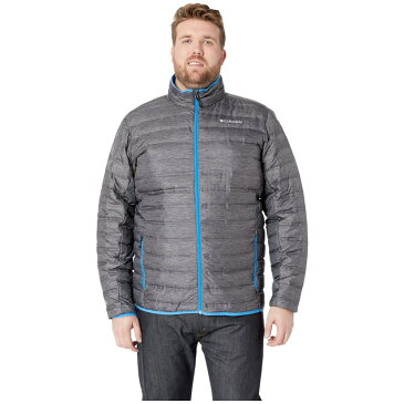 コロンビア Columbia メンズ アウター ダウン・中綿ジャケット【Big & Tall Lake 22 Down Jacket】Charcoal Heather Print/Azure Blue