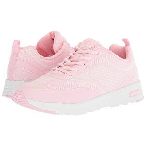 フィラ Fila レディース ランニング・ウォーキング シューズ・靴【Memory Chelsea Knit Running】Pink/Pink/White