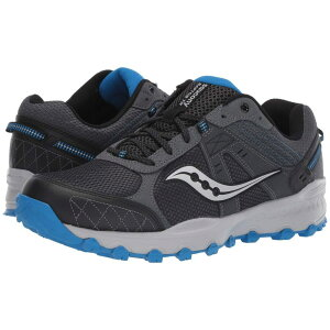サッカニー Saucony メンズ ランニング・ウォーキング シューズ・靴【Grid Raptor TR 2】Charcoal/Blue