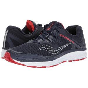 サッカニー Saucony メンズ ランニング・ウォーキング シューズ・靴【Guide ISO】Navy/Red