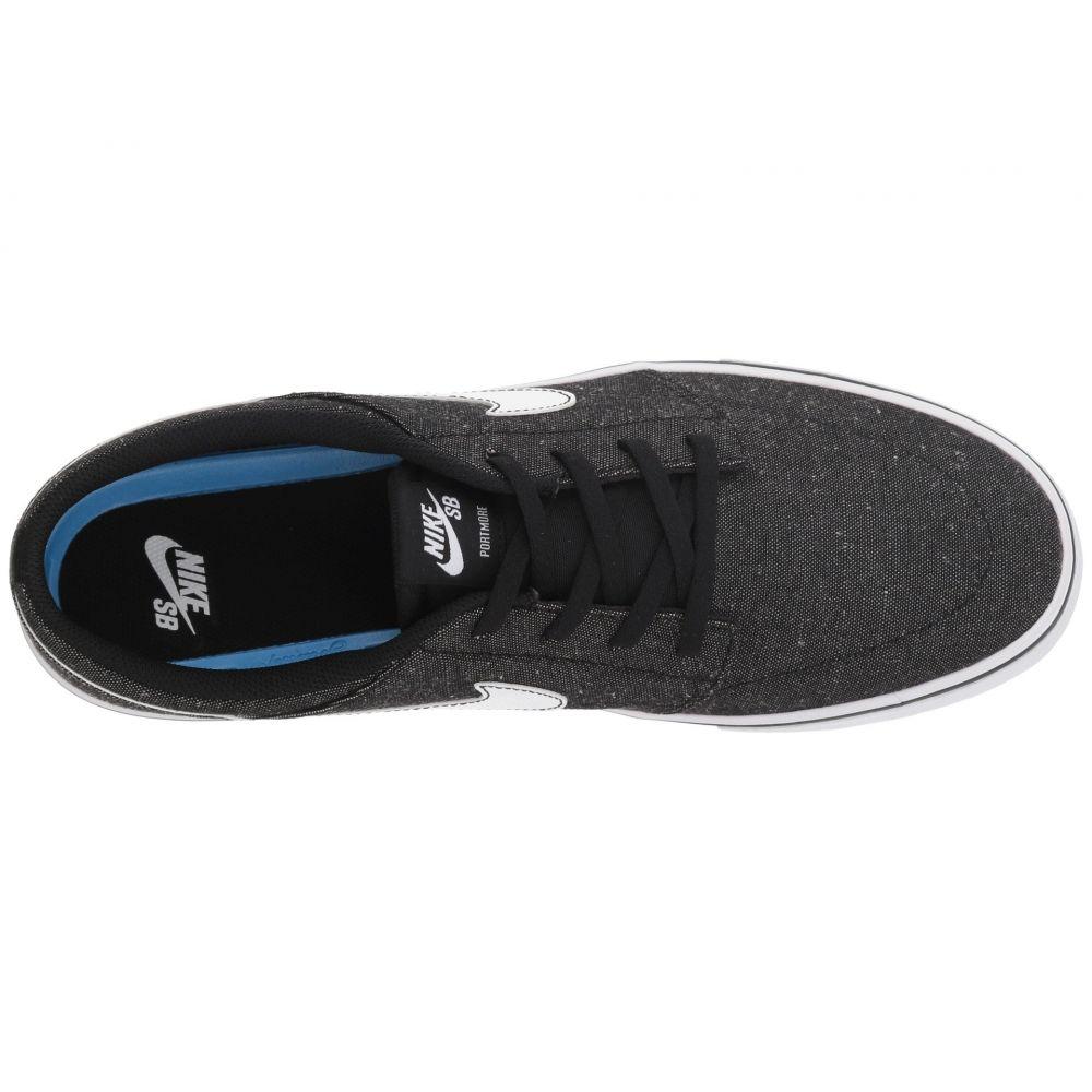 ナイキ Nike SB メンズ シューズ・靴 スニーカー【Portmore II Solar Premium Canvas】Black/White/White