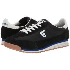 トレトン Tretorn メンズ シューズ・靴 スニーカー【Retro 3】Black/Black/Vintage White Leather/Textile