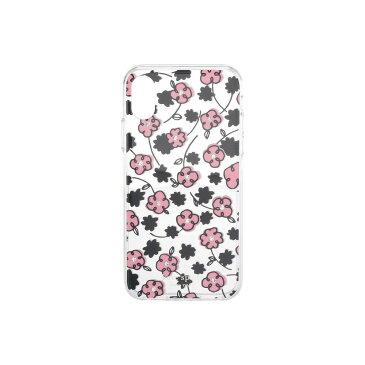 ケイト スペード Kate Spade New York レディース iPhoneケース 【Jeweled Floradoodle Phone Case For iPhone XS】Clear Multi