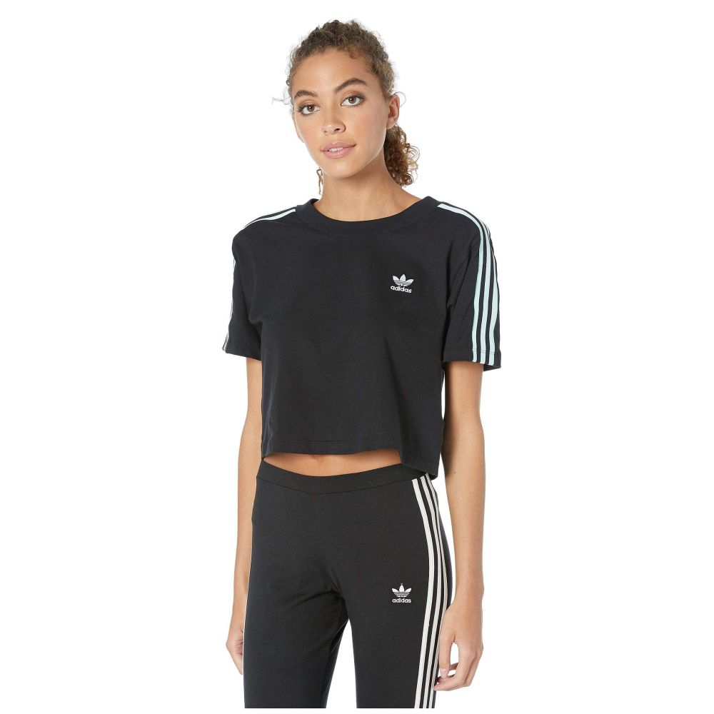 トップス, Tシャツ・カットソー  adidas Originals T 70s Kick Cropped TeeBlack