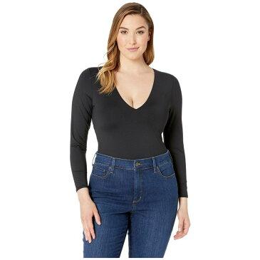 ボルコム Volcom レディース ワンピース 大きいサイズ 水着・ビーチウェア【Plus Size Simply Seamless Bodysuit】Black