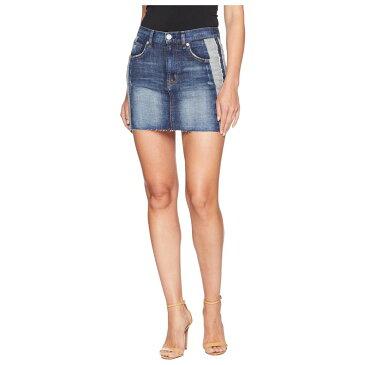ハドソンジーンズ Hudson Jeans レディース ミニスカート スカート【The Viper Mini Skirt in Rip Love】Rip Love