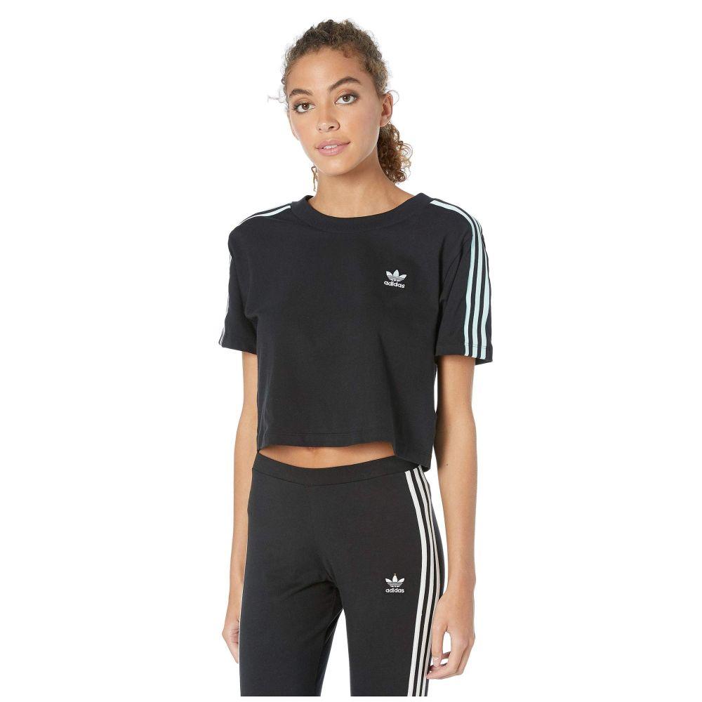 トップス, Tシャツ・カットソー  adidas Originals T 70s Kick Cropped TeeBlack