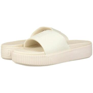 プーマ PUMA レディース サンダル・ミュール シューズ・靴【Platform Slide】Pastel Parchment/Pastel Parchment