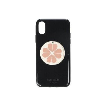 ケイト スペード Kate Spade New York レディース iPhone (X)ケース 【Flower Swivel Mirror Phone Case for iPhone XS】Black Multi