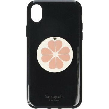 ケイト スペード Kate Spade New York レディース iPhone (X)ケース 【Flower Swivel Mirror Phone Case for iPhone XR】Black Multi