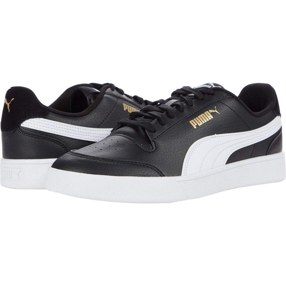 プーマ PUMA メンズ スニーカー シューズ・靴【Shuffle】Puma Black/Puma White/Puma Team Gold画像