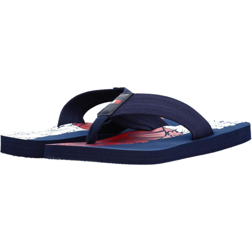 トミー ヒルフィガー Tommy Hilfiger メンズ ビーチサンダル シューズ・靴【Canaan】Navy画像