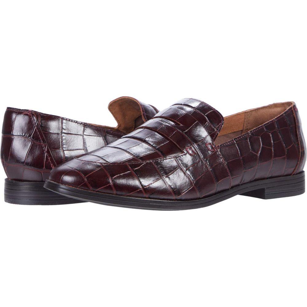 ロックポート Rockport レディース ローファー・オックスフォード シューズ・靴【Perpetua Penny】Oxblood Croco画像