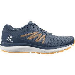 サロモン Salomon メンズ ランニング・ウォーキング シューズ・靴【Vectur Trail Running Shoes】Dark Denim/White/Warm Apricot