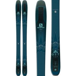 サロモン Salomon レディース スキー・スノーボード ボード・板【QST Lux 92 Skis 2019】Dark Blue/Light Blue