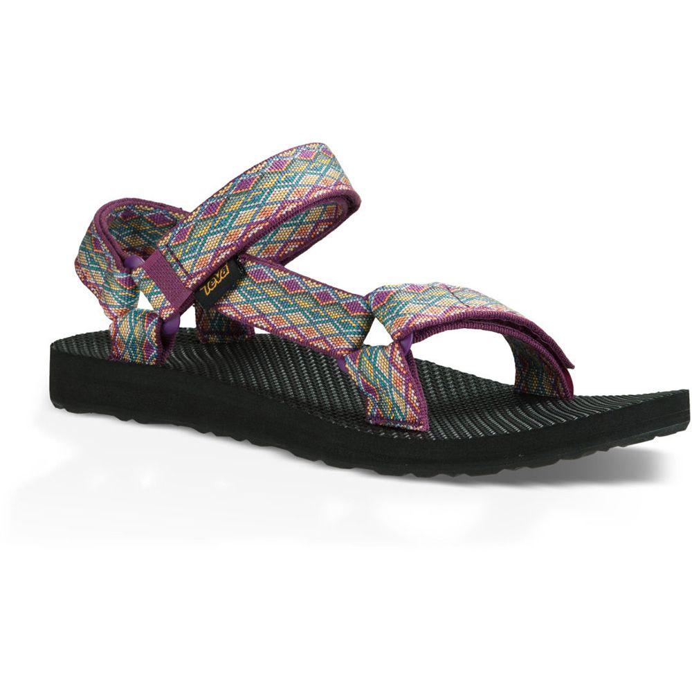 テバ Teva レディース シューズ・靴 サンダル・ミュール【Original Universal Sandals】Miramar Fade Dark Purple