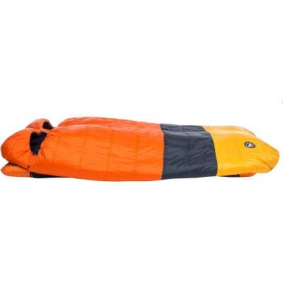 ビッグアグネスBigAgnesユニセックスハイキング?登山寝袋【DreamIsland15SleepingBag】Orange/Navy/Yellow