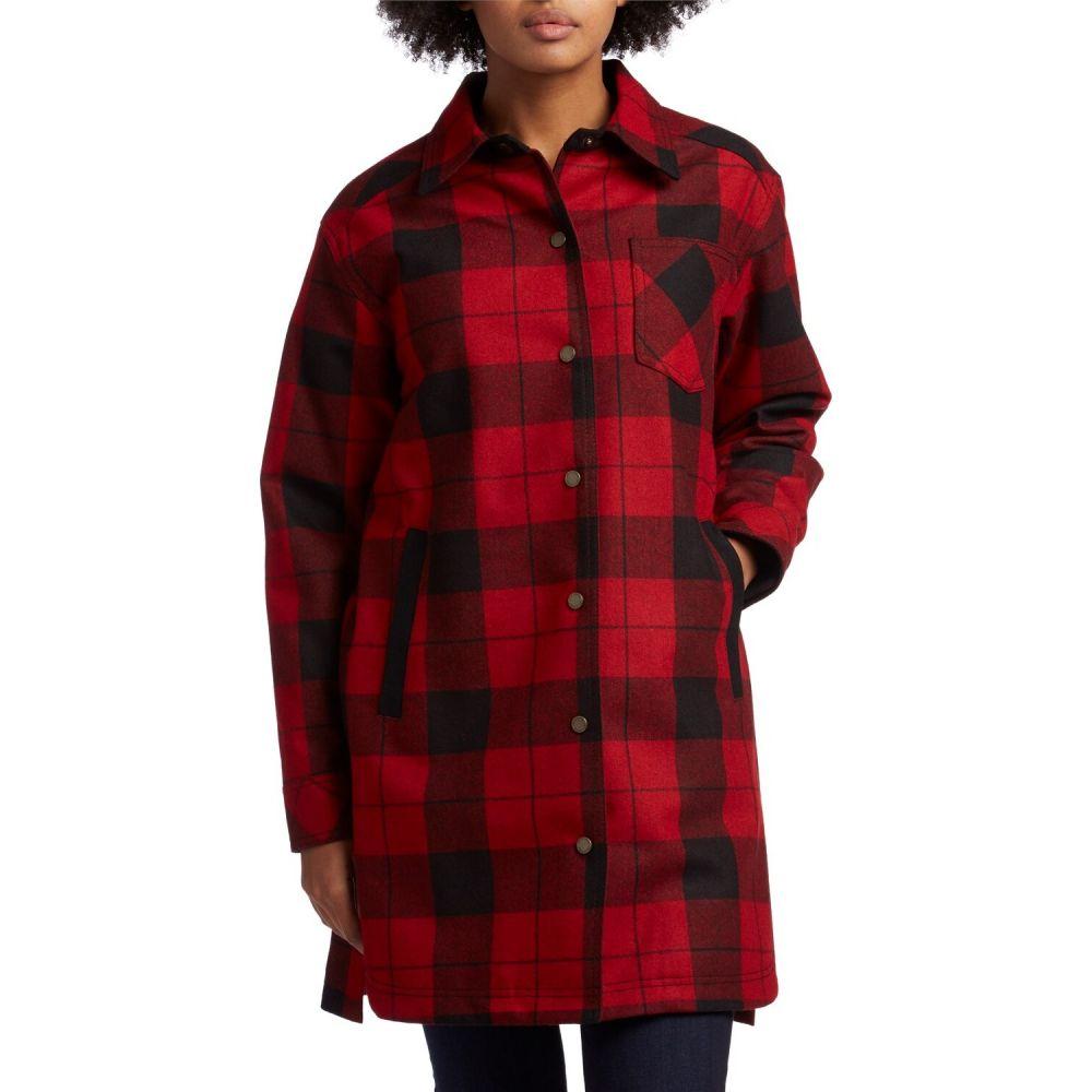 レディースファッション, コート・ジャケット  Pendleton fargo jacketRed Black Tartan