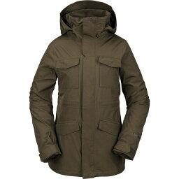 ボルコム Volcom レディース ジャケット アウター【leda gore-tex jacket】Black Military