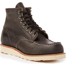 レッドウィング Red Wing メンズ ブーツ シューズ・靴【8890 6-Inch Classic Moc Boots】Charcoal Rough/Tough Leather
