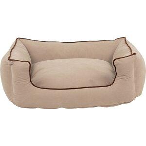 Carolina Pet Company キャロライナペット ペットグッズ 犬用品 ベッド・マット・カバー ベッド【Microfiber Low Profile Kuddle Lounge】Ecru