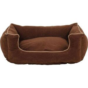 Carolina Pet Company キャロライナペット ペットグッズ 犬用品 ベッド・マット・カバー ベッド【Microfiber Low Profile Kuddle Lounge】Brown