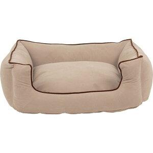 Carolina Pet Company キャロライナペット ペットグッズ 犬用品 ベッド・マット・カバー ベッド【Memory Foam Microfiber Low Profile Kuddle Lounge】Ecru